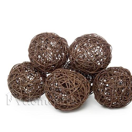 Как сделать декоративные шары из веток