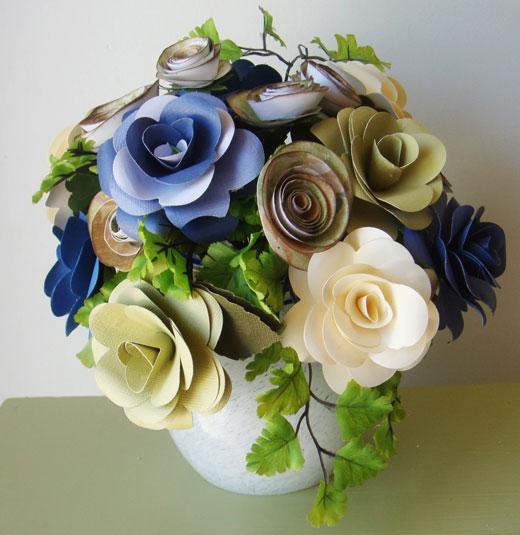 Красивые букеты в цветочных горшках