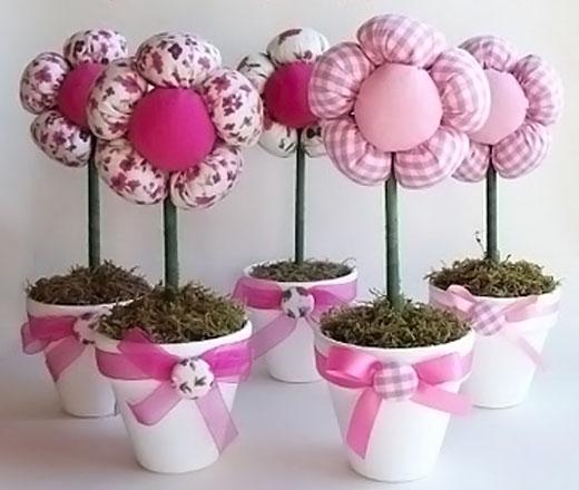 Из чего можно сделать декоративные цветы своими руками