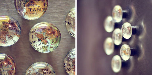 Поделки из стеклянных камушков