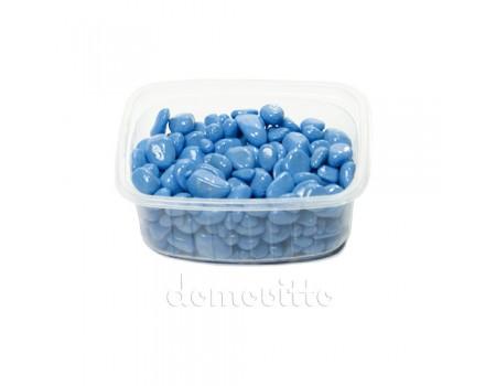 Галька декоративная голубая, 0,5-12 мм (325 гр)