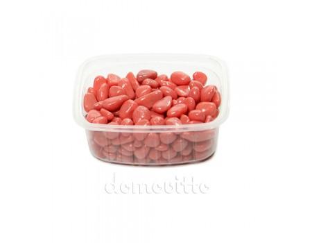Галька декоративная розовая, 0,5-12 мм (350 гр)