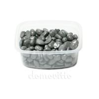 Галька декоративная серая, 0,5-12 мм (325 гр)