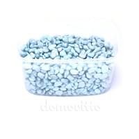 Грунт для декора светло-голубой окатанный, 6-8 мм, 330 гр (Германия)