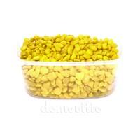 Грунт для декора желтый окатанный, 6-8 мм, 330 гр (Германия)