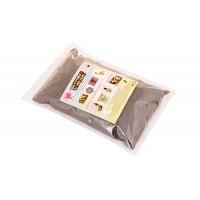 Песок цветной серый, 0,3-0,5 мм (1 кг)