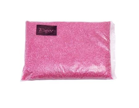 Песок крупный цвета фуксия, 1,2-1,8 мм (1 кг)
