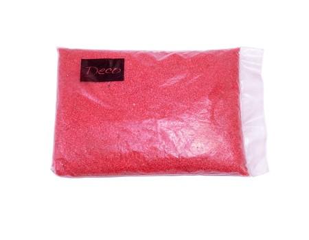 Песок крупный красный, 1,2-1,8 мм (1 кг)