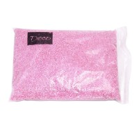 Песок крупный розовый, 1,2-1,8 мм (1 кг)