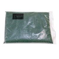 Песок крупный темно-зеленый, 1,2-1,8 мм (1 кг)
