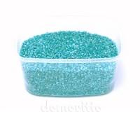 Песок крупный бирюзовый, 1,2-1,8 мм, 330 гр (Германия)