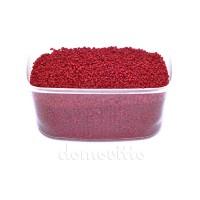 Песок крупный бордовый, 1,2-1,8 мм, 330 гр (Германия)
