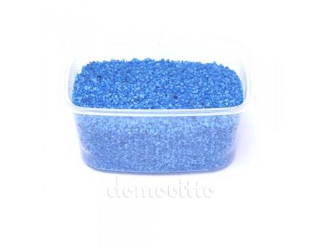 Песок крупный голубой, 1,2-1,8 мм, 330 гр (Германия)