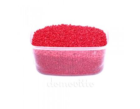 Песок крупный красный, 1,2-1,8 мм, 330 гр (Германия)