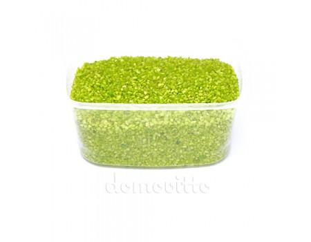 Песок крупный салатовый, 1,2-1,8 мм, 330 гр (Германия)