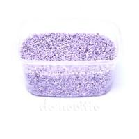 Песок крупный светло-сиреневый, 1,2-1,8 мм, 330 гр (Германия)