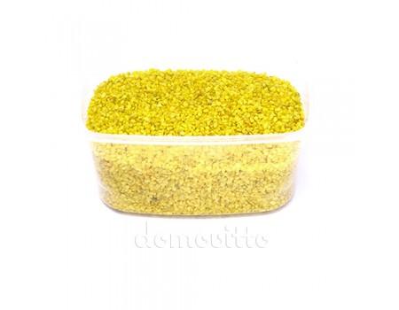 Песок крупный желтый, 1,2-1,8 мм, 330 гр (Германия)