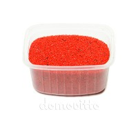 Песок флористический красный, 0,5-1 мм (330 гр)