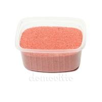 Песок флористический розовый, 0,5-1 мм (330 гр)