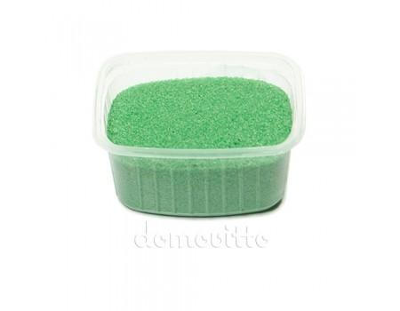 Песок флористический салатовый, 0,5-1 мм (330 гр)