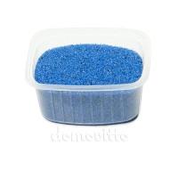 Песок флористический синий, 0,5-1 мм (330 гр)