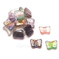 "Стеклянный декор ""Бабочки"", 250 гр"