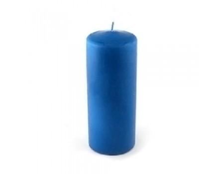 """Свеча для композиций """"Столбик синяя"""", 4 х 9 см"""