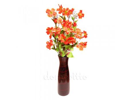 Букет клематиса интерьерный для напольной вазы, 105 см