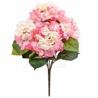 Гортензия искусственная розовая, 44 см
