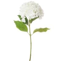 Гортензия искусственная, 70 см. Цвета: Белый, Сиреневый