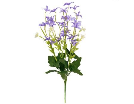 Кустик с мелкими цветочками, 40 см. Цвета: Желтый, Сиреневый, Розовый