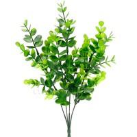 Кустик искусственный самшит зеленый, 34 см