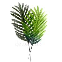 Лист пальмы искусственный малый, 37 см