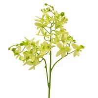 Орхидея Дендробиум искусственная салатовая, 45 см