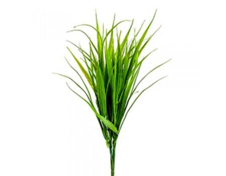 Кустик травки зеленый искусственный, 40 см