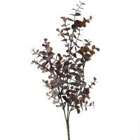 Ветка эвкалипта осенняя пластик, 65 см
