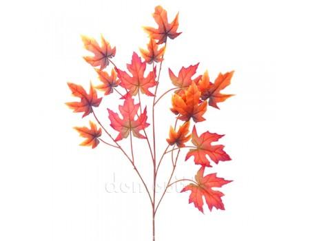 Осенняя ветка клена искусственная, 71 см