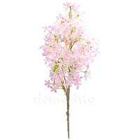 Ветка в цветах искусственная, 55 см. Цвета: Белый, Бело-розовый