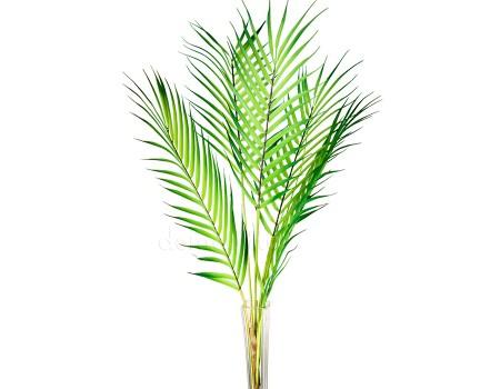 Ветки пальмы искусственные, 80 см