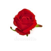 """Голова розы """"Бутон красный"""", d9 см"""