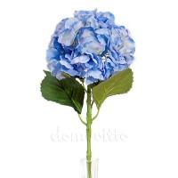 Гортензия искусственная голубая, 54 см