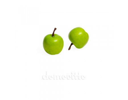 Яблочко мини зеленое, 3,5 см