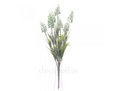 Лаванда искусственная белая, 34 см