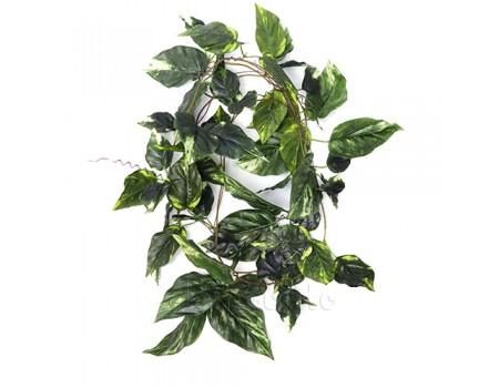 Искусственная лиана с пестрыми листьями, 270 см