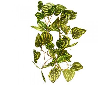 Искусственная лиана с полосатыми листьями, 250 см