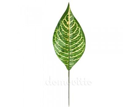 Лист кротона искусственный, 40 см