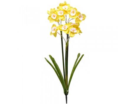 Нарциссы искусственные, 40 см