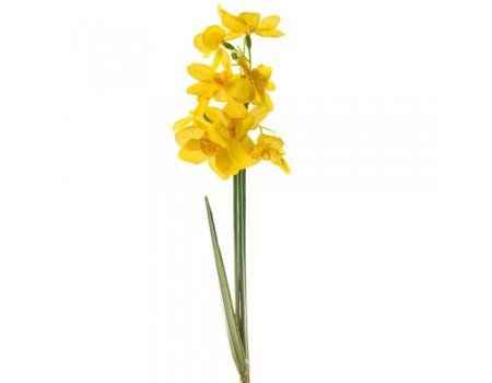 Нарцисс искусственный желтый, 27 см