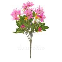 """Букет искусственный """"Первоцветы"""", 33 см. Цвета: Белый, Розовый"""