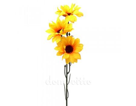 """Цветок искусственный """"Подсолнух дикий"""", 40 см"""